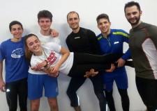 Rimini. Atletica. Al debutto l'atleta Emma Corbelli conquista il titolo regionale di salto in lungo.