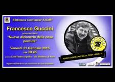 Forlì. Francesco Guccini presenta il suo nuovo libro al CineTeatro Apollo.