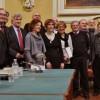 Forlì. Nove poeti romagnoli hanno presentato il libro 'L'Italia a Pezzi', antologia dei poeti dialettali.