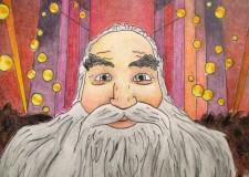 Faenza. Scomparso il dipinto di Santa Claus, è giallo. Delusione per la giovane pittrice.