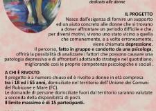 San Mauro Pascoli. Corso contro il disagio depressivo rivolto alle donne. In biblioteca comunale dal 3 febbraio 'Se mi sento giù non mi butto giù'..