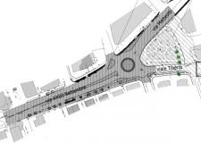 Rimini. Al via i lavori per la realizzazione della rotatoria in piazzale Vannoni.