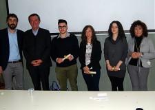 Cotignola. Consegnate tre borse di studio 'Ciro Alberico Testi' nell'ambito della conferenza 'Cotignola e le famiglie Sforza e Testi'.
