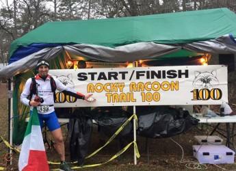 Santarcangelo. L'ultramaratoneta Loris De Paola dopo l'impresa di Roma termina la 100 miglia in Texas.