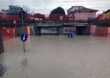 Riccione. Sicurezza stradale. Sottopasso via Da Verazzano, un semaforo per segnalare ai veicoli la percorribilità in caso di allagamento.