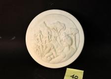 Faenza. Le medaglie d'oro della cento in mostra alla Galleria comunale d'Arte nel Voltone della Molinella.