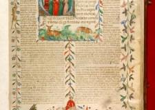 Cesena. All'Expo sarò esposto un prezioso codice miniato della biblioteca Malatestiana ora in viaggio verso Milano.