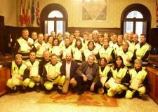 Ravenna. Consegnati gli attestati ai volontari dell'associazione Mistral che si sono impegnati durante l'ultima ondata di maltempo di febbraio.