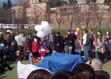 Santarcangelo. Inaugurato il nuovo gioco 'inclusivo' accessibile per tutti i bambini al Parco della Fiera.