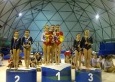 Riccione. Successi ai campionati regionali a Cattolica per i ragazzi e le ragazze della Ginnastica.