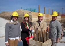 Santarcangelo. Avviati i lavori per la costruzione di dieci alloggi di edilizia residenziale pubblica in via Di Vittorio.
