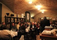 Bagnacavallo. Dozza. I vignaioli dell'azienda agricola Corte d'Aibo si presentano all'Enoteca Regionale alla Rocca Sforzesca.