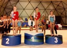 Riccione. Ginnastica. Elisa Palazzini ha vinto il titolo regionale Uisp. I ragazzi raggiungono la qualificazione ai nazionali di Modena.