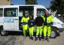 Forlì. I volontari cittadini del Servizio Operativo di Soccorso tornano da Fano dopo un corso di addestramento di quattro giorni.