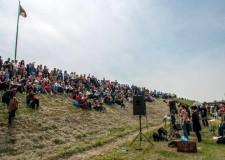 Cotignola. In mille lungo il fiume Senio per celebrare i 70 anni dalla Liberazione. Un evento che richiama sempre più persone.