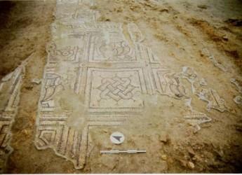 Cervia. I mosaici della chiesa San Martino 'prope litus maris' in mostra al Museo del Sale.