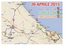 Rimini. Tutto pronto per la seconda edizione della Rimini Marathon. Ecco l'elenco delle strade interessate dall'evento sportivo.