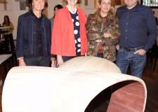 Rimini. San Patrignano. Presentato 'Baco', un progetto nato nel 2012 per reinterpretare il legno di recupero che sarà al Salone del Mobile 2015.