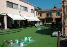 Riccione. Una piazza 'verde' per accogliere i piccoli lettori in occasione della festa del Beato Alessio.