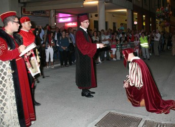 Fusignano. Prima edizione del Palio dei Barberi in centro storico con il primo torneo 'Fusi di bandiera'.