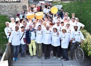 San Marino. Lo chef Luigi Sartini all'appuntamento annuale con 'Cento mani di questa terra' con i 50 migliori chef della regione Emilia Romagna.