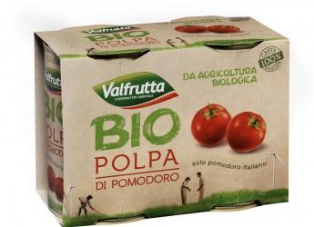 Bologna. Valfrutta lancia la passata e la polpa di pomodoro biologico, la prima marca nazionale ad estendere l'offerta alle conserve 'bio'.