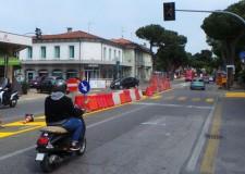 Rimini. Concluso il primo step dell'intervento sperimentale della viabilità attorno a piazzale Vannoni.