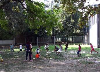 Ravenna. Un pomeriggio di giochi all'aria aperta al parco John Lennon.