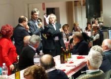 Rimini. Festa al centro sociale 'E titottc' di Corpolò. Il sindaco Gnassi coglie l'occasione per fare il punto sugli interventi previsti in zona.