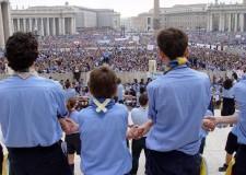 Roma. Invasione pacifica di 70mila scuot a San Pietro. Dall'Emilia Romagna quasi 8mila ragazzi per l'Udienza Generale di Papa Francesco.