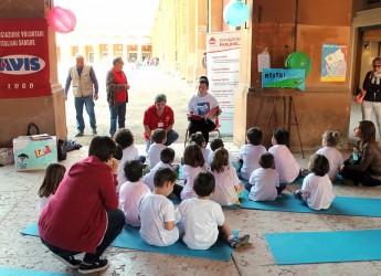Lugo. Il centro cittadino si 'illumina' con la città dei bambini. Circa 800 scolari hanno partecipato alle attività organizzate.