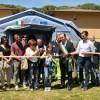 Dovadola. Inaugurata una nuova teda da campo attrezzata della Protezione Civile acquistata grazie al contributo della famiglia di Vasco Bartoletti.