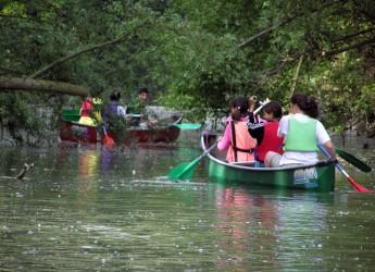 Ravenna. La discesa in canoa dei fiumi uniti alla scoperta di suggestivi luoghi naturali. Starter d'eccezione Josefa Idem.