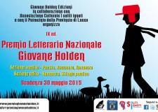 Lucca. E' fissato a fine maggio il termine per poter partecipare alla nona edizione del Premio Letterario Nazionale 'Giovane Holden'.