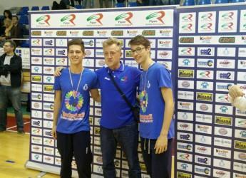 San Marino. Kinderiadi. Buone le prove nel volley e beach volley per i titani selezionati con la rappresentativa riminese a Cesenatico.