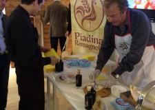 Rimini. La piadina romagnola Igp alla riminese è il 'pane' ufficiale del Raduno Nazionale dei Bersaglieri. Buon gustai.