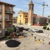 Conselice. Via Garibaldi e piazza Felice Foresti chiuse al traffico per tre giorni per permettere la conclusione dei lavori di asfaltatura.