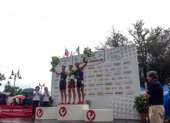 Rimini. Giornata di grandi gare per la prima giornata del Challenge Rimini dedicata al triathlon maschile e femminile.