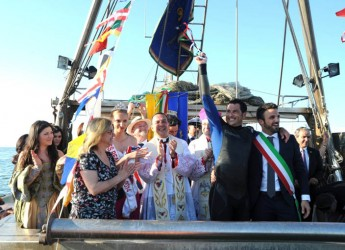 Cervia. Pronta la manifestazione 'Sposalizio del mare' tra tradizione e novità. In piazzale Aliprandi il 'Trebbo dei pescatori'.