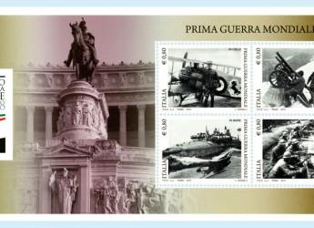 Rimini. Negli uffici postali della provincia sono disponibili i quattro nuovi francobolli dedicati alla Grande Guerra.