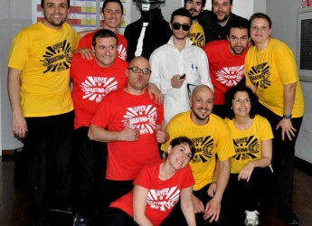 Bagnacavallo. Pronta la 'Maratona di improvvisazione teatrale' di 30 ore, la più lunga d'Italia. Un impegno per raccogliere fondi per l'acquisto di defibrillatori.