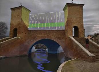 Comacchio. Sul Trepponti un'installazione sonora e luminosa dal titolo 'Arpa di luce', un evento del Ravenna Festival.