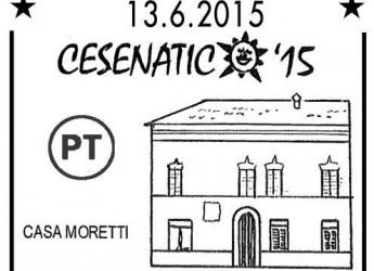 Cesenatico. Un annullo postale dedicato al convegno filatelico numismatico 'Cesenatico 15′.
