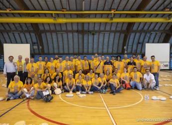 Mirandola. Sono stati 700 gli studenti che hanno partecipato alla scuola di soccorso con i volontari Anpas.