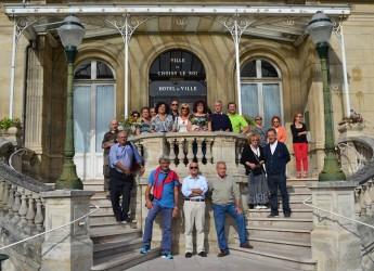 Lugo. I podisti della Lughesina in viaggio tra le bellezze di Parigi. Un viaggio in Francia per partecipare alla Marathon de la Marne.