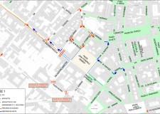 Ravenna. Si parte, i lavori di riqualificazione di Piazza Kennedy entrano nel vivo con la chiusura di via D'Azeglio per il rifacimento dei sottoservizi. Ecco le modifiche alla viabilità.