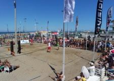Riccione. Beach tennis. Sfilata di campioni e grandi match per i Campionati Italiani Assoluti che si sono svolti al Riccione Beach Arena.