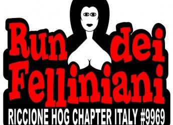 Misano Adriatico. Harley Davidson da tutta Italia per l'edizione 2015 del Run dei Felliniani promosso dal Riccione Chapter.