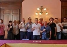 Massa Lombarda. I ragazzi del Circolo Tennis ricevuti dal sindaco Bassi dopo la storica promozione in A1.