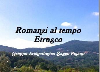 Pisa. Sasso Pisano. Banifacio Vincenzi è il vincitore del concorso letterario nazionale per il miglior romanzo ambientato al tempo degli etruschi.